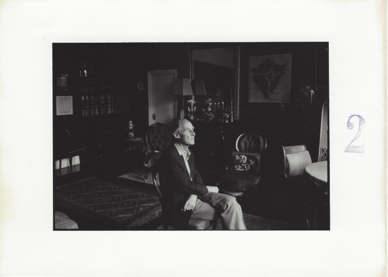 Duane Michals_Portrait of Bill Brandt 2 copia