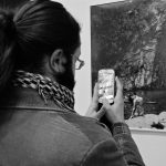 ADUBINI visitors NYMPHS bn DSCF7195 - Milano Photofestival