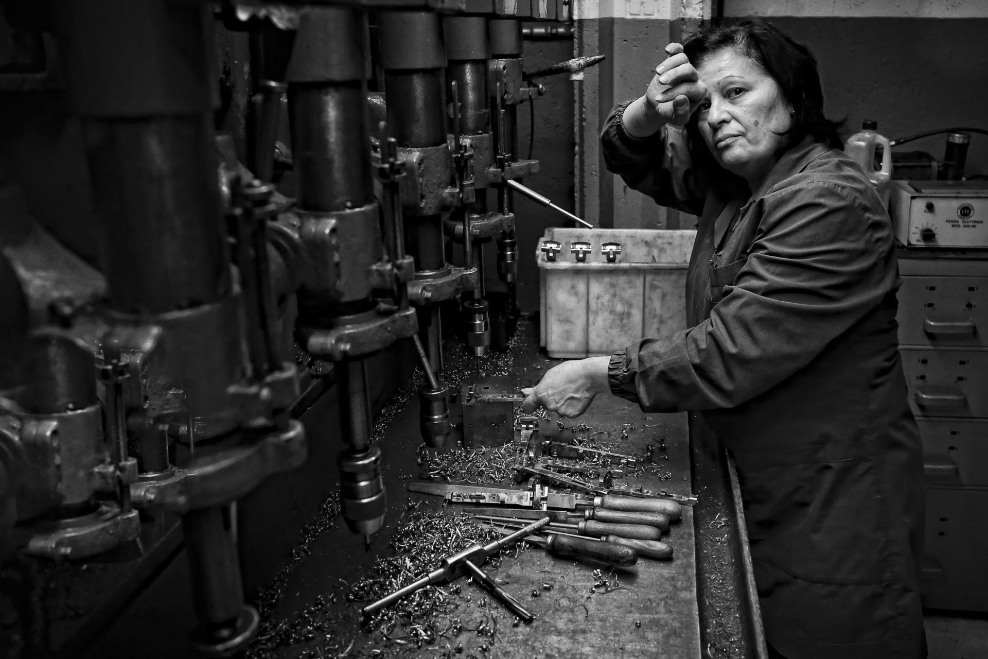Claudio Rizzini Agnese e stanca scaled - Milano Photofestival