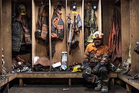 Tommy uno degli ultimi minatori di Longyearbyen 2018 - Milano Photofestival