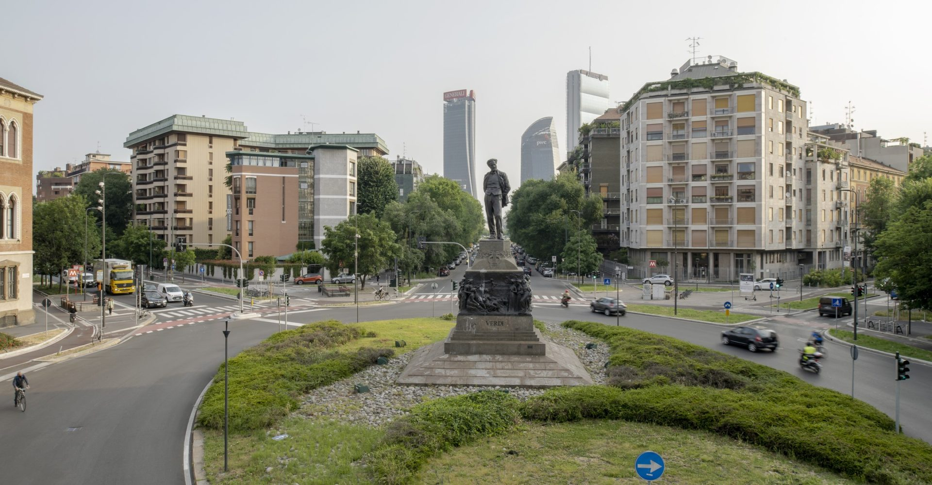 Milano in prospettiva