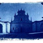 Blue Certosa, cyanotypes from a treasure