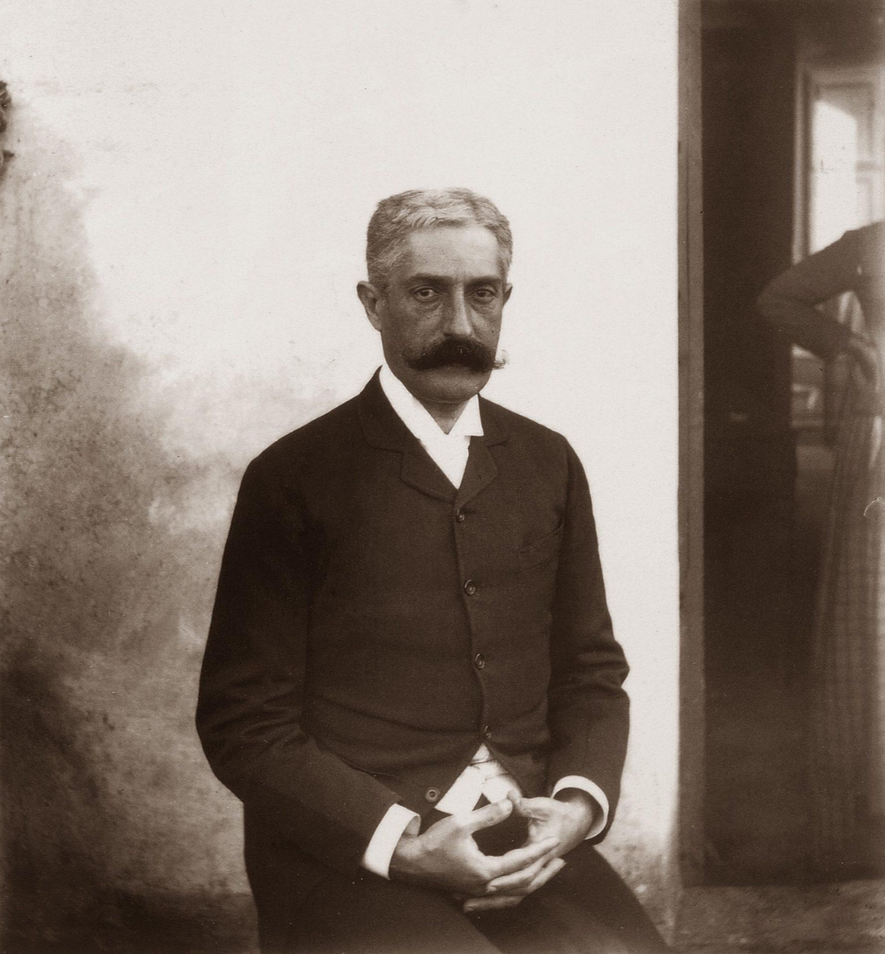 Giovanni Verga scrittore fotografo